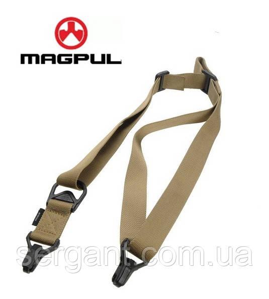 Тактический оружейный 1-2 точечный ремень Magpul MS3 МОЕ (США) - ПЕСОЧНЫЙ