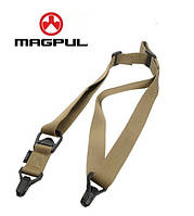 Тактический оружейный 1-2 точечный ремень Magpul MS3 МОЕ (США) - ПЕСОЧНЫЙ, фото 1