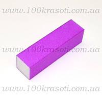 Баф для ногтей фиолетовый яркий