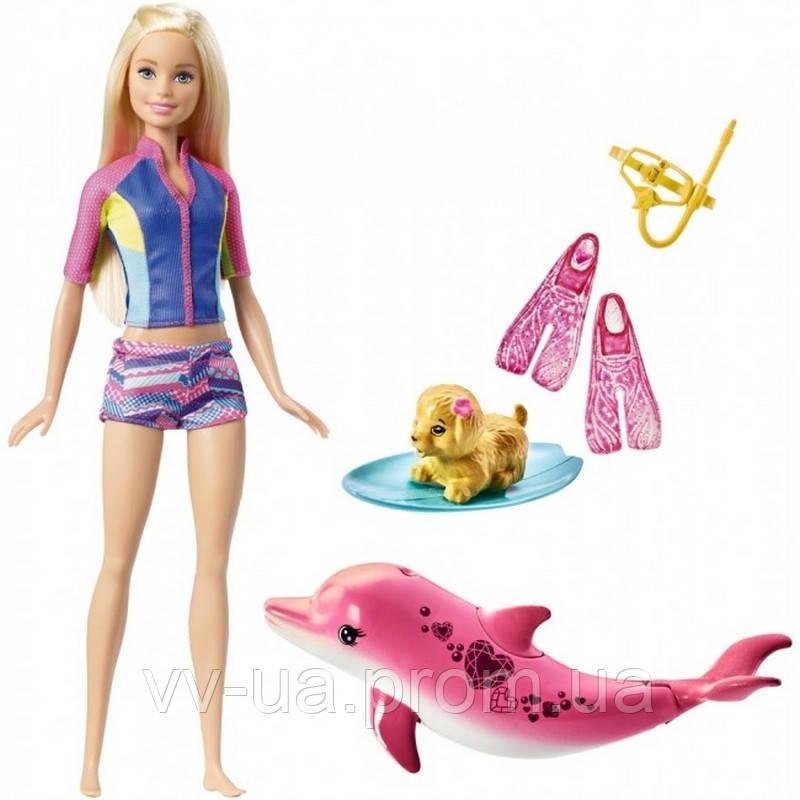 """Набор игровой Barbie Подводное плавание из м/ф """"Barbie: Волшебство дельфинов"""" (FBD63)"""
