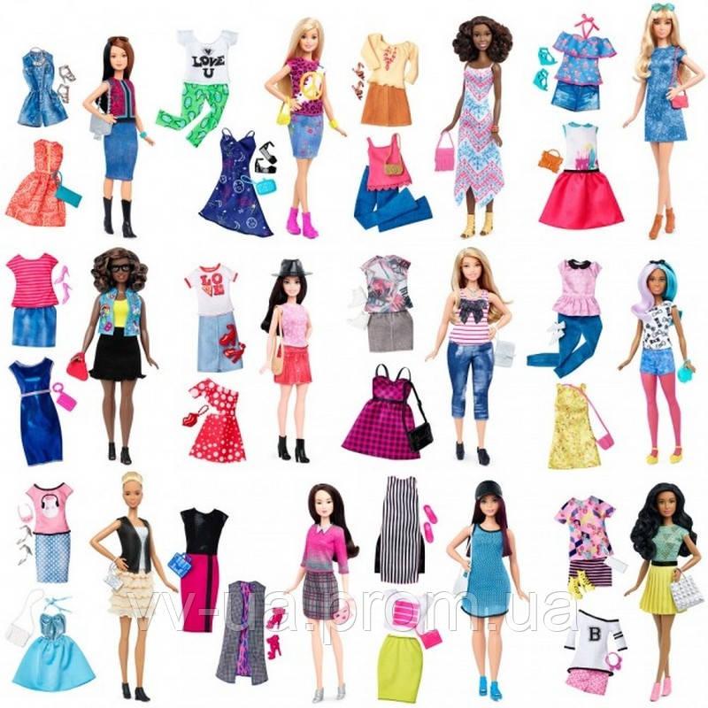 Набор Barbie Модница с одеждой в ассортименте (DTD96)