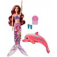 """Русалочка Barbie Волшебная трансформация из м/ф """"Barbie: Волшебство дельфинов"""" (FBD64), фото 1"""