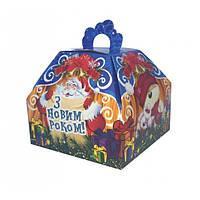 Новогодний подарок в картонной упаковке. Набор №2 300 г