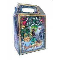 Новогодний подарок в картонной упаковке. Набор №4 1000 г