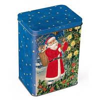 Новогодний подарок в жестяной упаковке. Набор №4 1000 г