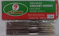 Крючки для вязания: #1, #4, #7, #10, #17, #21, #22
