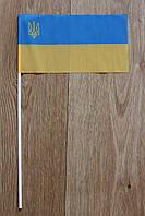 Флажки из ткани на палочке с лого, фото 1