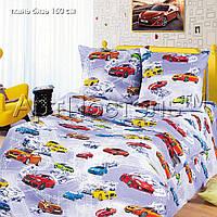 Детское постельное белье в кроватку Автомиир, бязь ГОСТ 100%хлопок