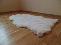 Дорожка из шкур овчины, цвет бежевый, длина 1 метр