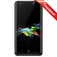 "✓Смартфон 5"" Samgle X2, 1Gb+8Gb Черный 2.5D IPS экран touch id 2SIM 3G камера 8 + 5 МП GPS батарея 3000 mAh"