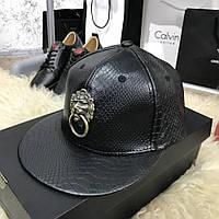 Baseball Hat Handle Lion Python Black