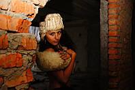 Натуральная теплая меховая шапка ушанка