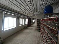 Вентиляция птицефабрики. Киевская область