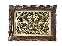 Ключница Жар-птица (Деревянные ключницы)
