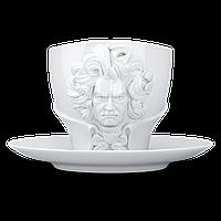 Чашка с блюдцем Ludwig van Beethoven Белый