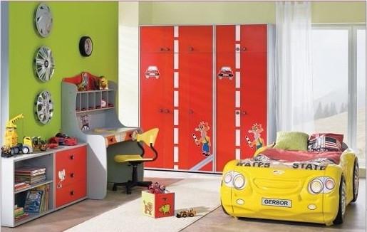 Модульная мебель для детской комнаты «Лео»