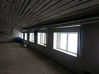 Монтаж систем вентиляции куриной фермы. Киев