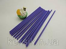 Lollipop фиолетовые укр 25шт 15см
