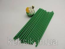 Lollipop зеленые укр 25 шт 15см