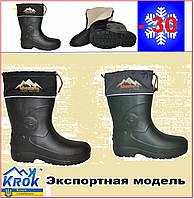 Сапоги мужские с утеплителем - Adventures Dago Active. Сапоги для рыбалки и на каждый день. Экспортная модель