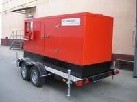 Дизель генератор на шасси ( мобильный дизель генератор) SUNLIGHT