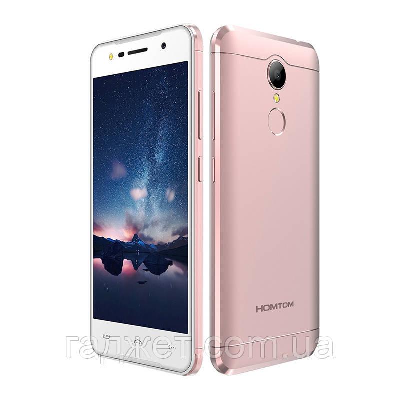 Телефон Homtom HT37 5.0 дюйм-2Gb/16Gb-3000mAh Rose-Gold, корпус Металл