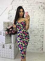 Женское нарядное платье на молнии (6 цветов)