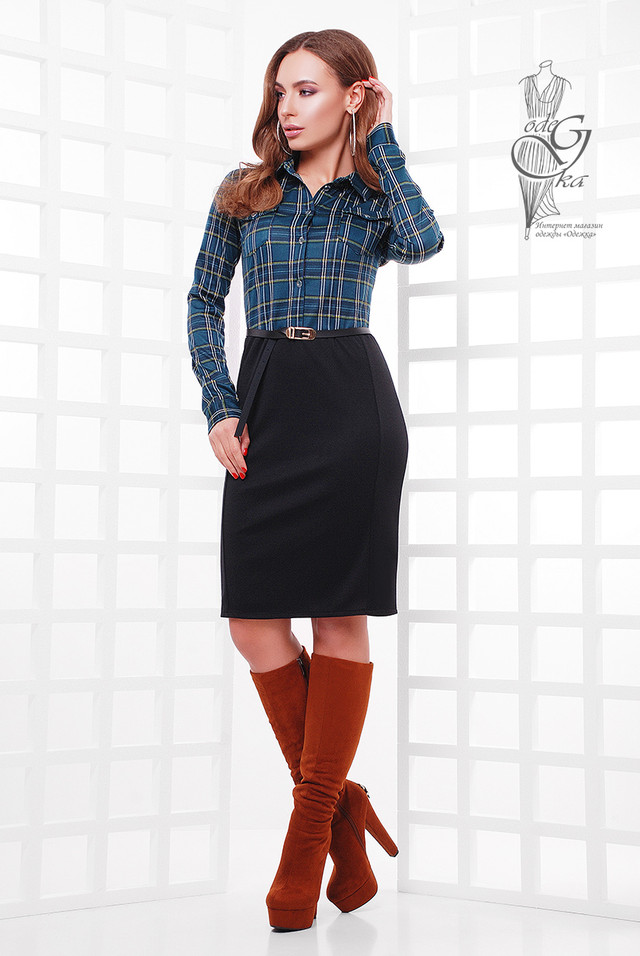 Фото-1 Ангорового женского платья Брилл-2