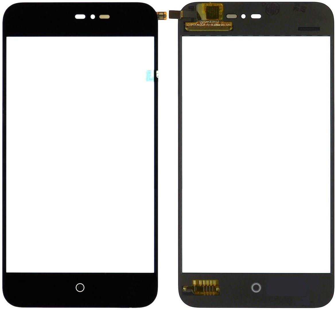Сенсор (Touch screen) Meizu MX2 чёрный