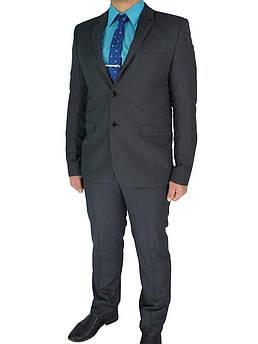 Серый мужской классический костюм Legenda Class 10176#3