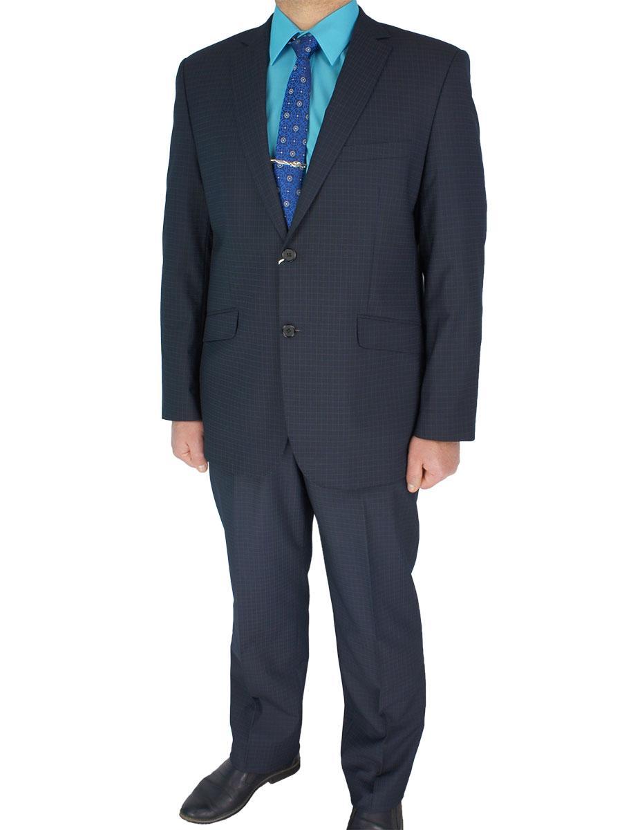 Мужской костюм Giordano Conti 610#3 темно-синего цвета