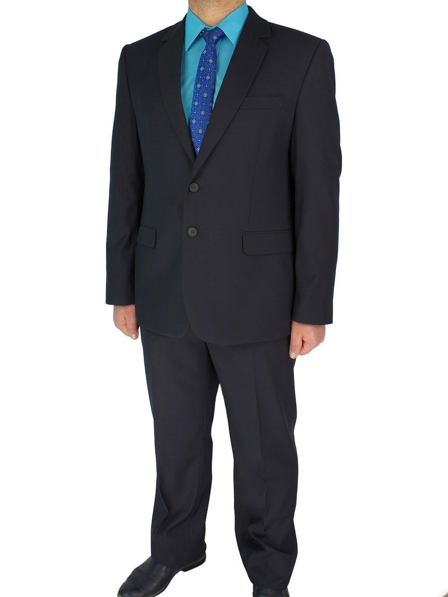 Мужской классический костюм Legenda Class 017#2 mod.1062 в темно-синем цвете