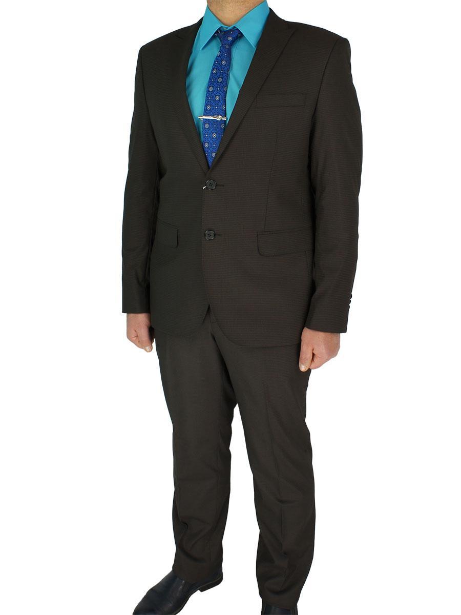 Мужской классический костюм Giordano Conti 279#4 в коричневом цвете