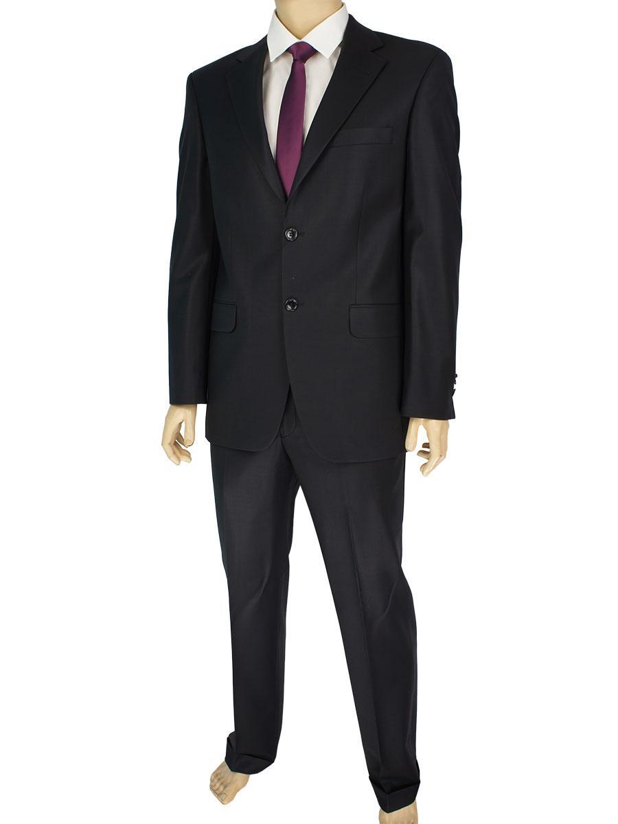 Классический мужской костюм Lamberty 79907 черного цвета