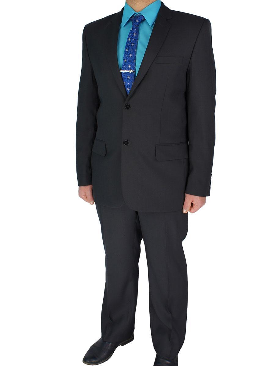 Класичний чорний чоловічий костюм Legenda Class 12101