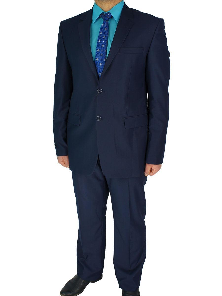 Чоловічий темно-синій класичний костюм Daniel Perry YT.300#3 classic