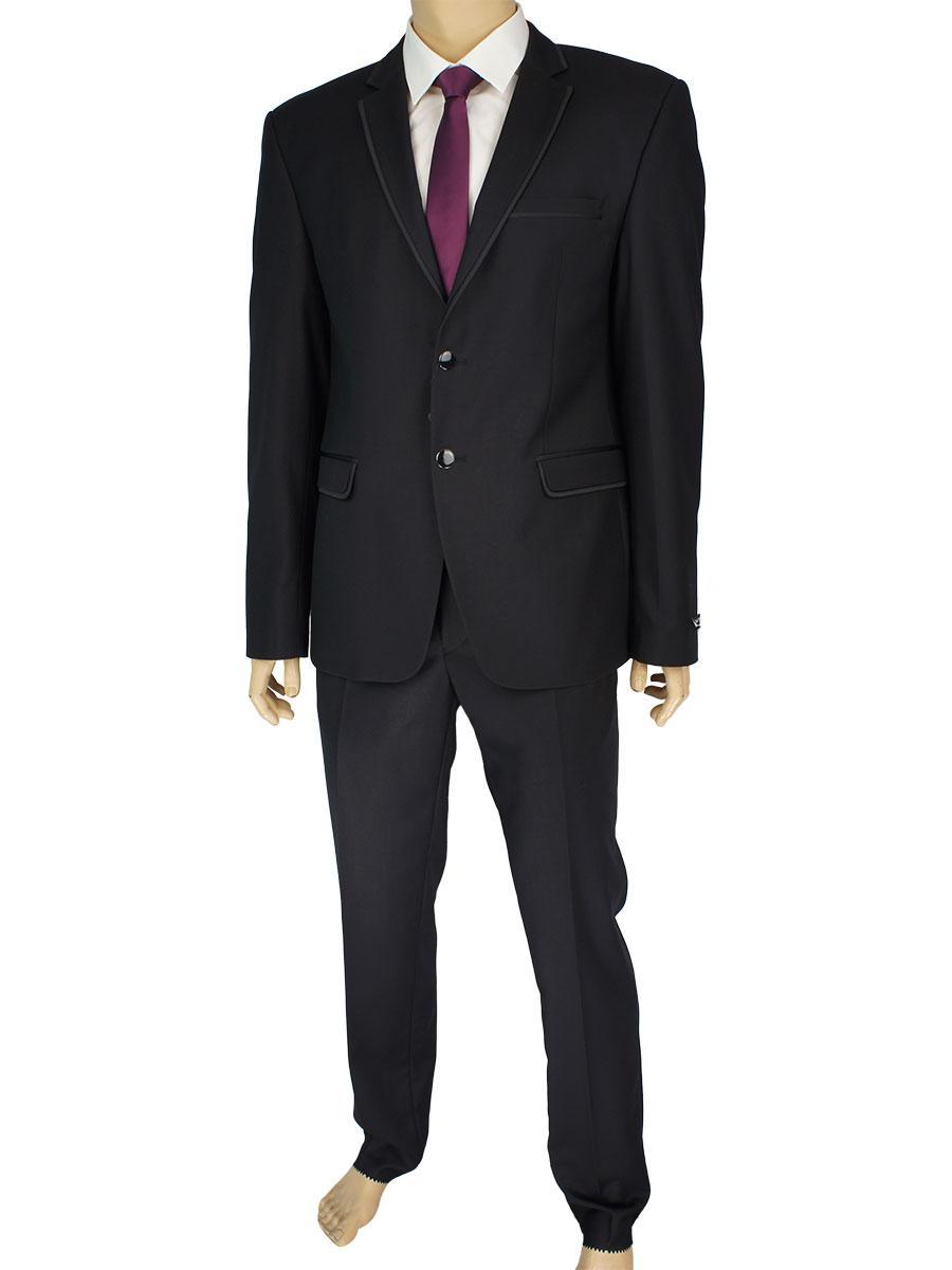 Молодіжний чорний костюм Daniel Perry JL.612 З: Siyan