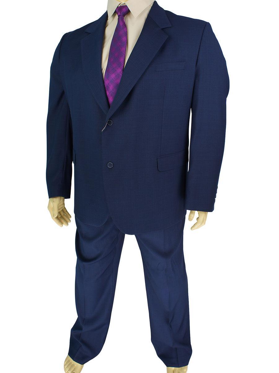 Чоловічий синій костюм Legenda Class 40 # 7 великого розміру