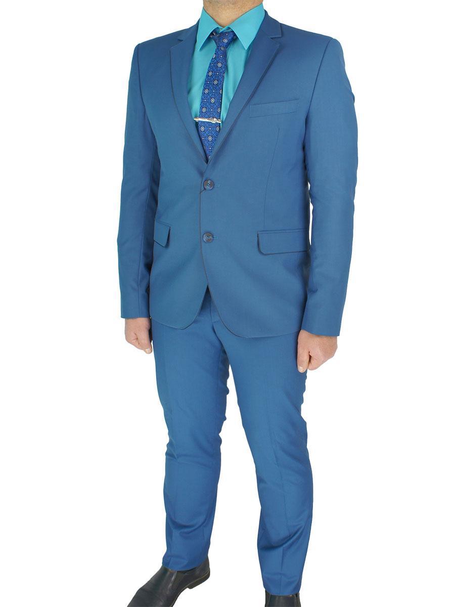Стильний чоловічий костюм Legenda Class 2532 # 119 mod.1042 в синьому кольорі