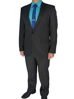 Чоловічий костюм Legenda Class 3662 в темно-сірому кольорі