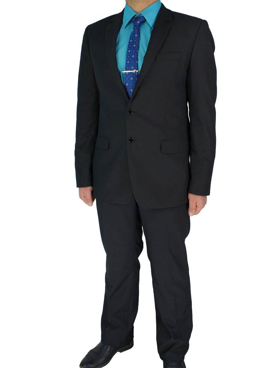 Чорний чоловічий класичний костюм Legenda Class 13101 # 2/13