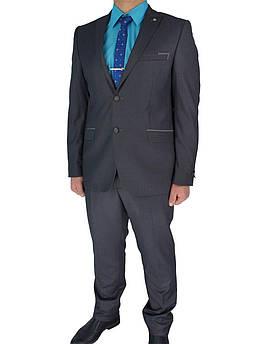 Стильний чоловічий костюм Paulo Boselli Art.No 350 в сірому кольорі