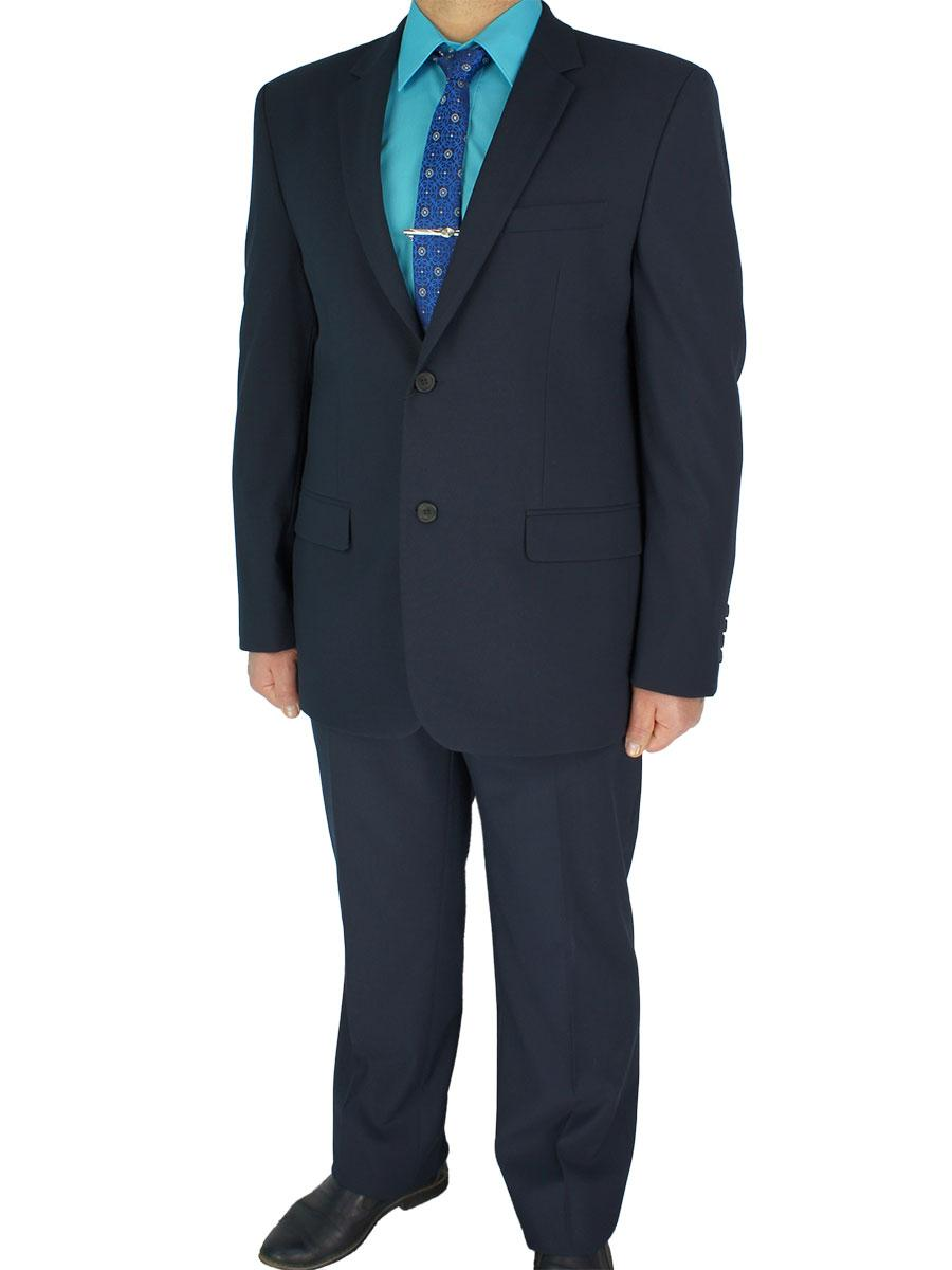 Класичний чоловічий костюм Legenda Class 2746 темно-синій