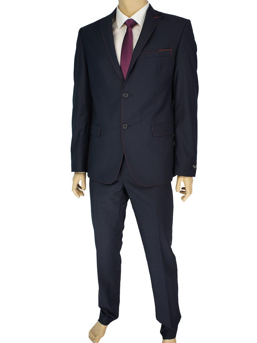 Чоловічий класичний костюм Paulo Boselli 67394 Baron   15 темно-синього  кольору 57f9899be02e6