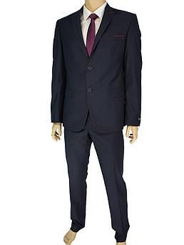 Чоловічий класичний костюм Paulo Boselli 67394 Baron # 15 темно-синього кольору