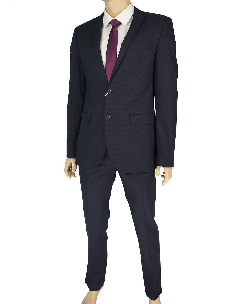 Стильний чоловічий костюм Giordano Conti 279 # 1 в темно-синьому кольорі