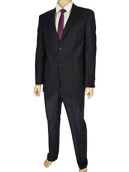 Класичний чоловічий костюм Lamberty 79907 чорного кольору