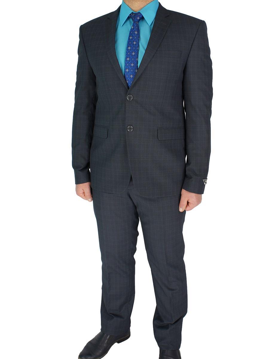 Класичний чоловічий костюм Daniel Perry Gilly # 1 сірий у велику клітинку