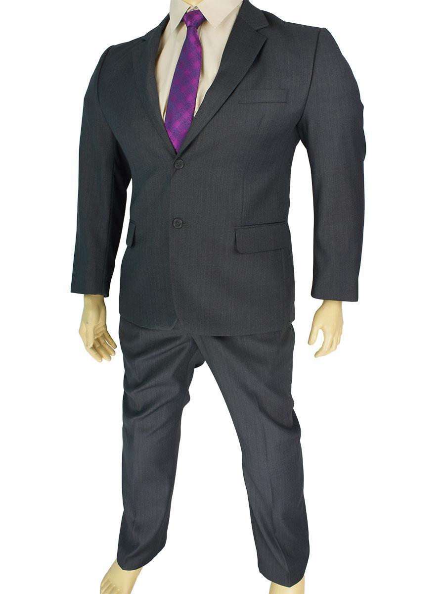 Класичний чоловічий костюм Legenda Class 1852 в великому розмірі