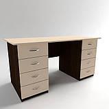 Стол рабочий с выдвижными ящиками СР-7. Письменные столы. Офисные столы, фото 2